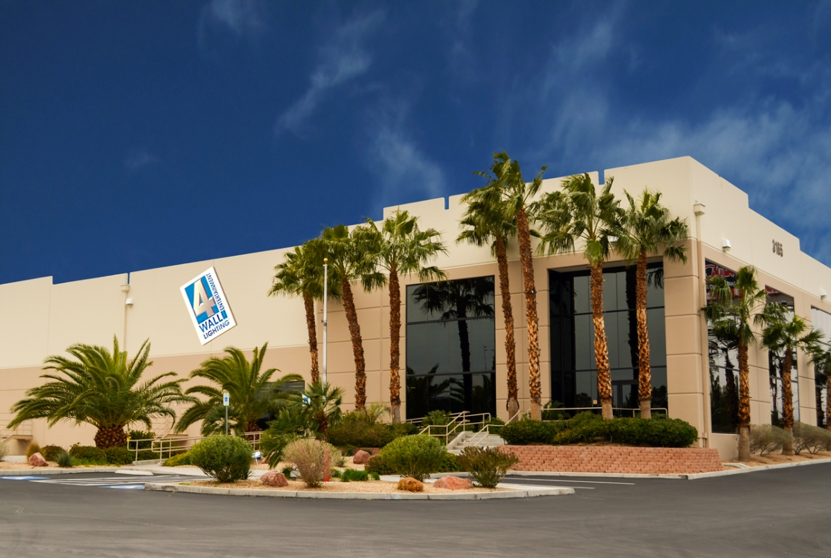 4wall las vegas moves to new 122 000 sq ft facility for Moving from los angeles to new york