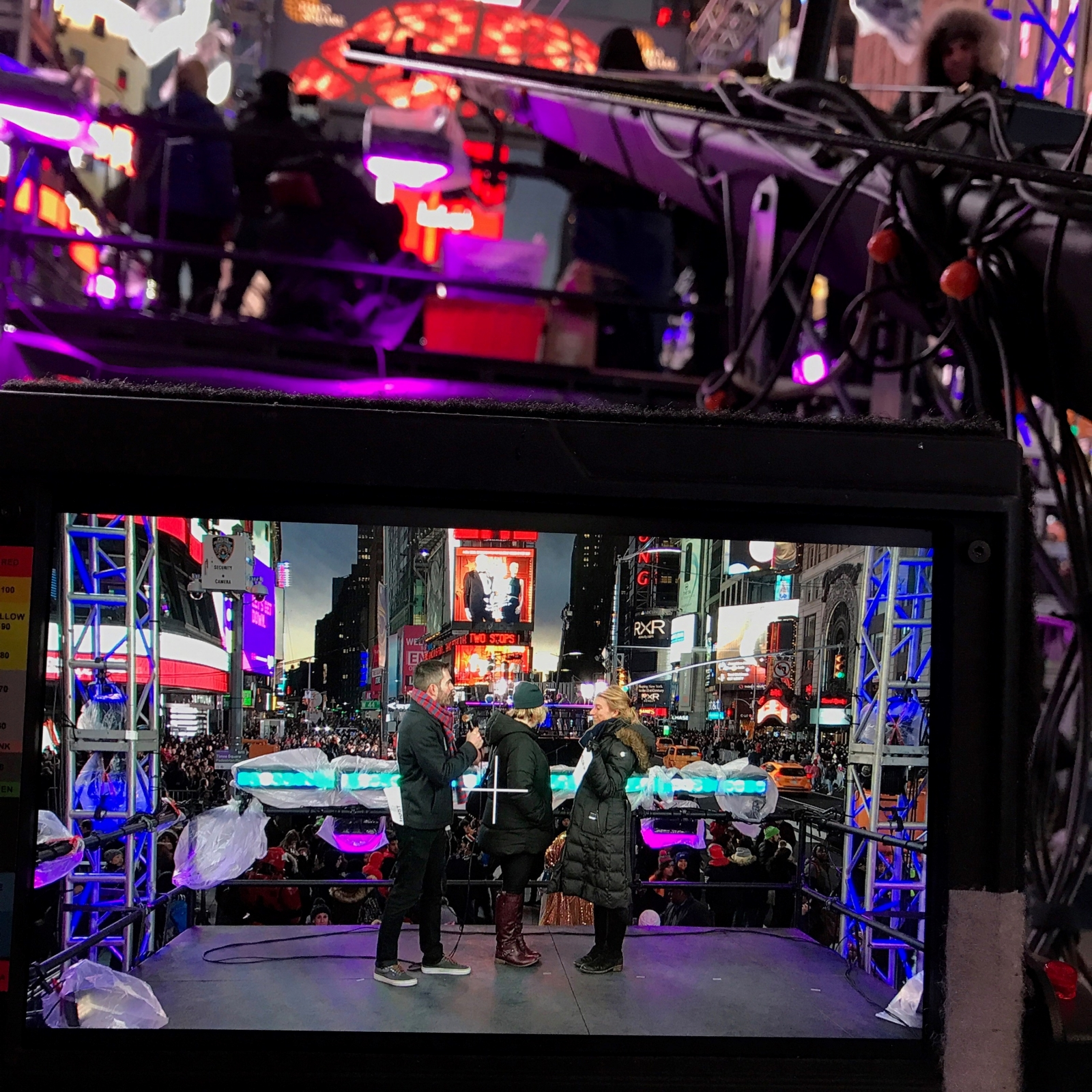 Prodworks Lighting Chooses 4wall Ny For Times Square New