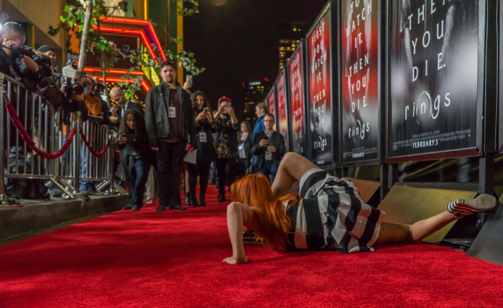 4wall La Puts On Red Carpet Event For Rings Premiere The