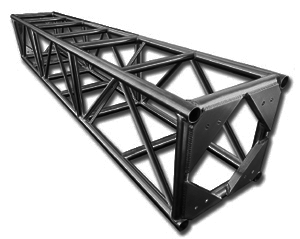 "Tomcat Box Truss 20"" x 10' Black"