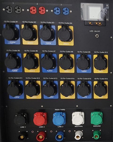 Indu Electric 120/208V Distro 48 Way