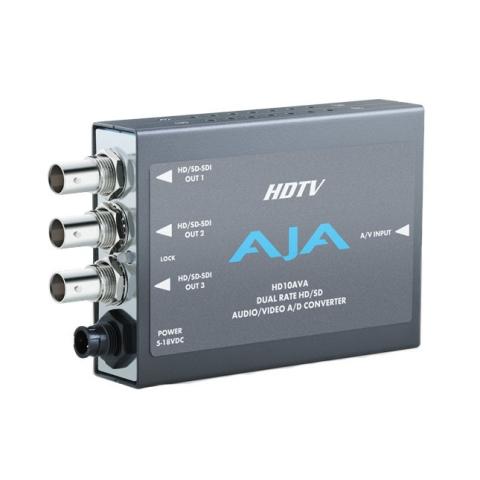 AJA HD10AVA Analog AV to HD-SDI Converter