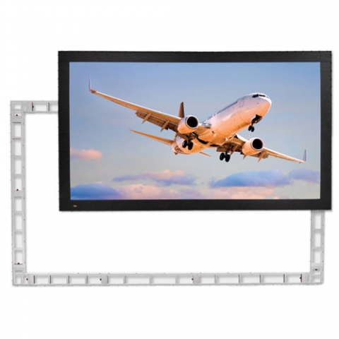Draper StageScreen 24 x 13.5 ft (16:9) Portable Rear Projection Screen, Ultra Wide Angle