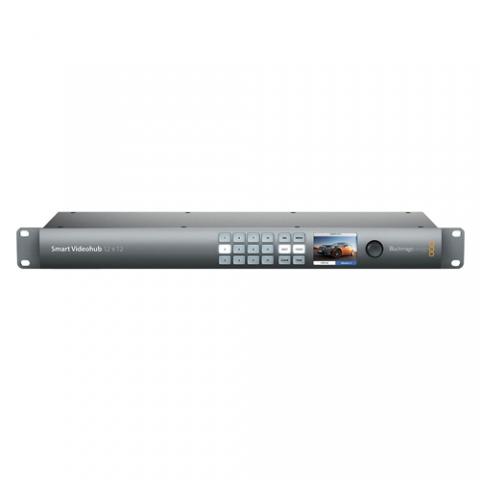 BlackMagic Design Smart Videohub 12x12 SDI Router
