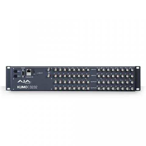 AJA KUMO 32x32 3G-SDI Router