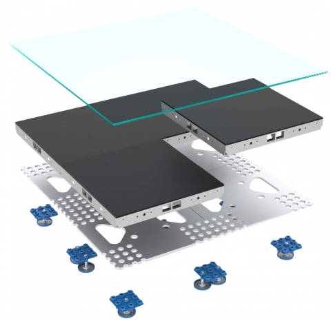 2.5mm Aluvision LED Floor