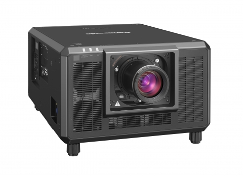 Panasonic PT-RZ34K 3-Chip DLP Laser Projector, 32,000 Lumens